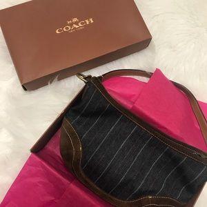 NWOT Coach Heritage Mini Hobo Bag+Gift Box 🎁 🎁